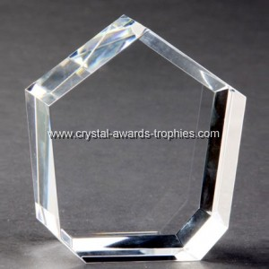 Crystal heptagon cubes