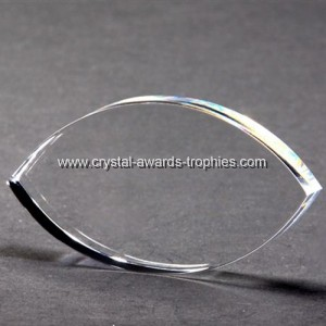 Eye shape Crystal