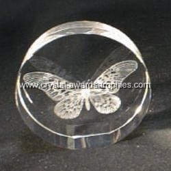 Crystal Butterfly Paperweight Glass Butterfly Paperweights