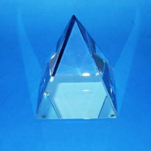Pyramid crystal cubes blanks