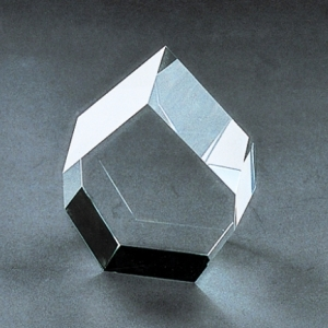 crystal hexagon laser polygon