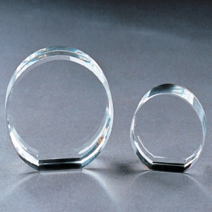 Crystal roundness blank
