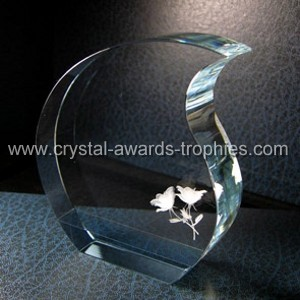 Lasering crystal 3d