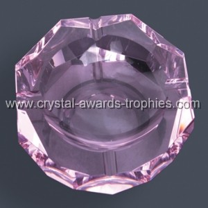 Purple Crystal ashtray gifts