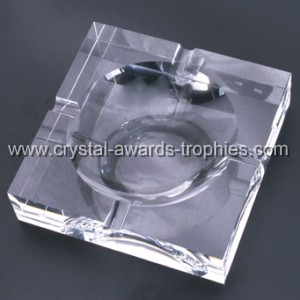classic Crystal Ashtray manufacture