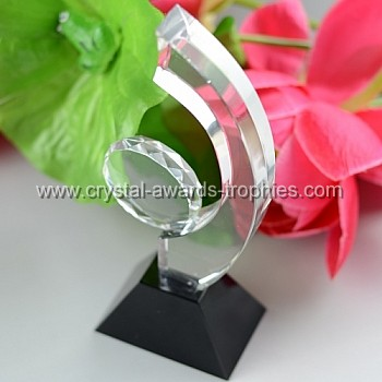 child dream crystal award trophy